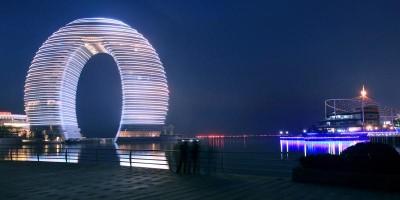 A arquitetura marcante do Sheraton Huzhou, na China!